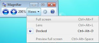 Windows 7 Magnifer