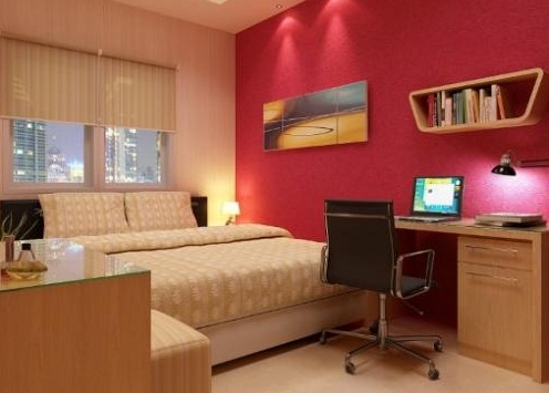 Office insurance office designs and interiors tips on for Bedroom office combo