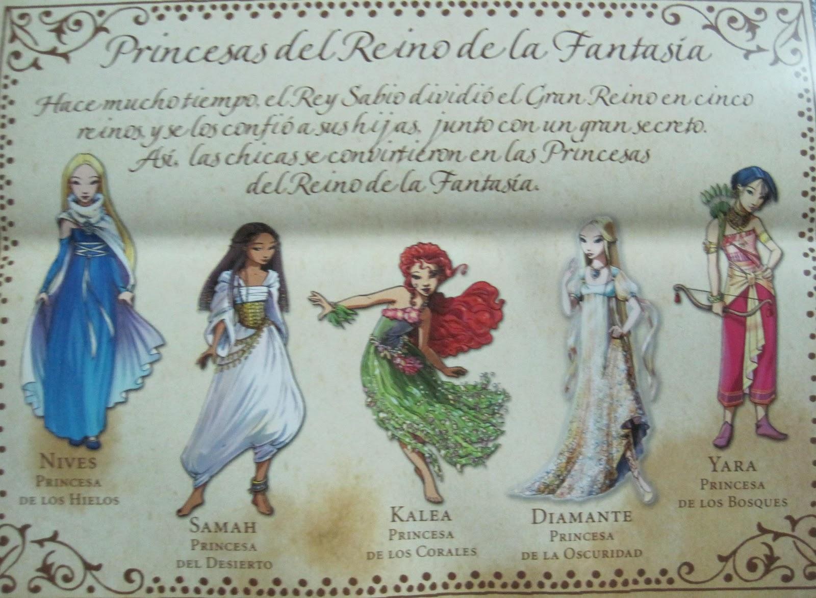 Princesas del Reino de la Fantasia/Tea Stilton Eso