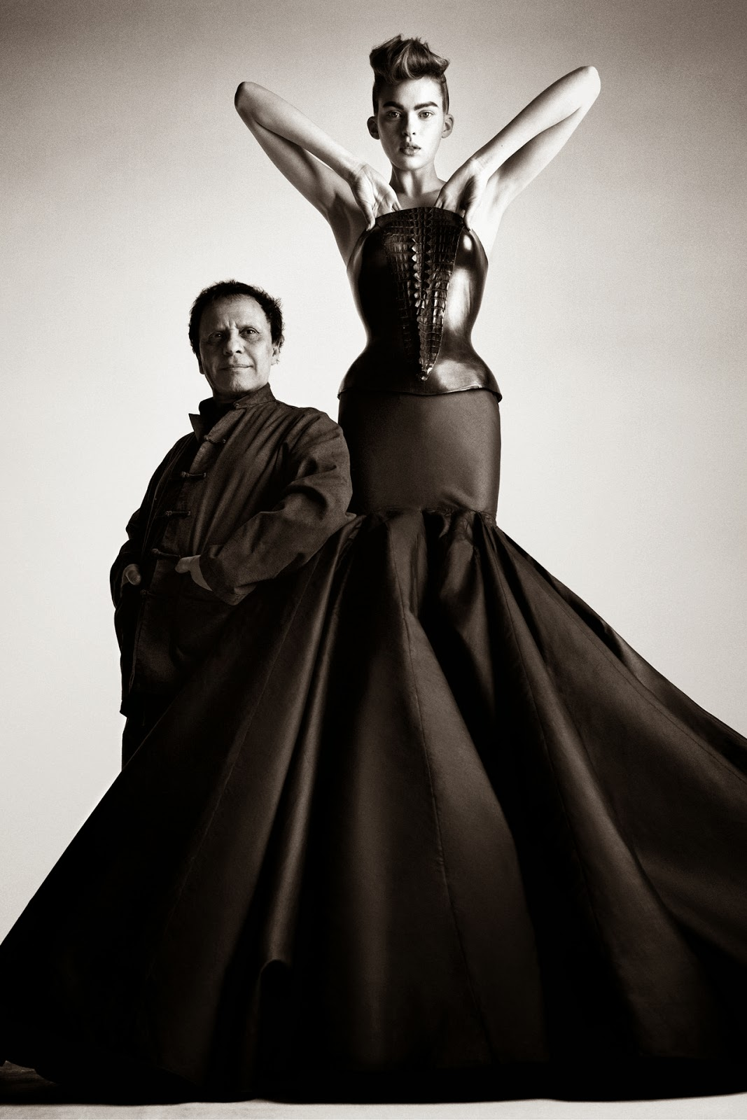 Azzedine Alaïa on Fashion and Cookies fashion and beauty blog