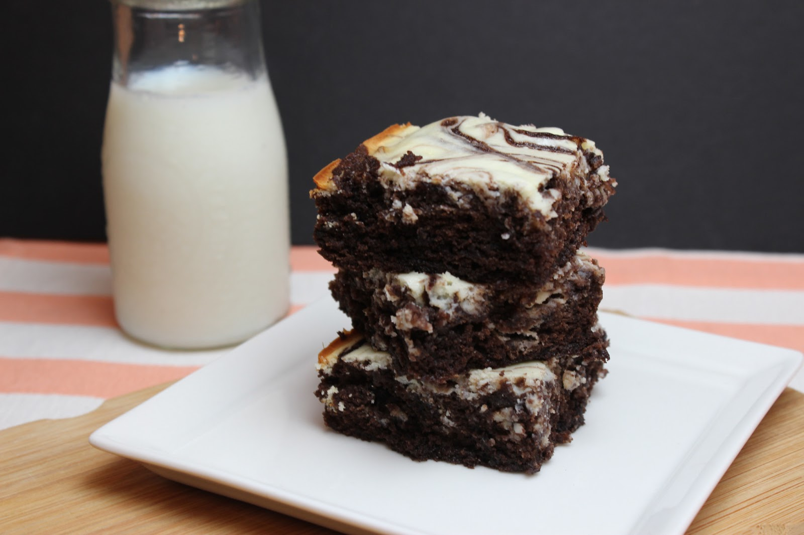 The Apron Gal: Cream Cheese Brownies + Giveaway!