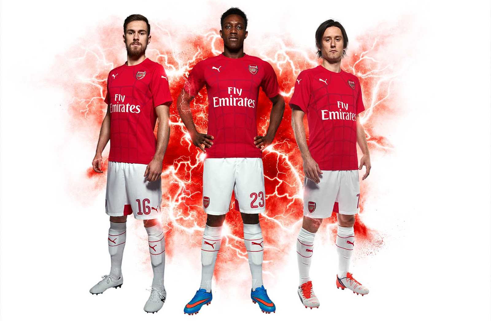 Arsenal Lima Enam Pre Match Shirt Released Footy Headlines