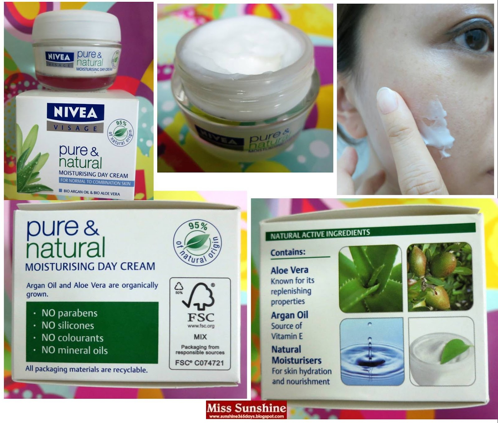 pure et naturel nivea