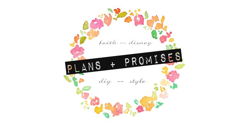 Plans & Promises