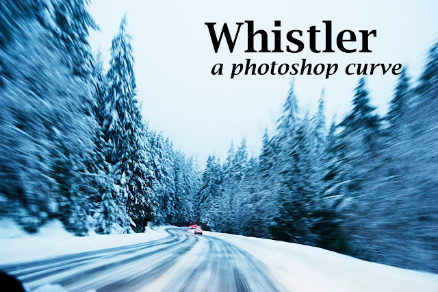 Photoshop Curve Whistler by Tracy Zhang