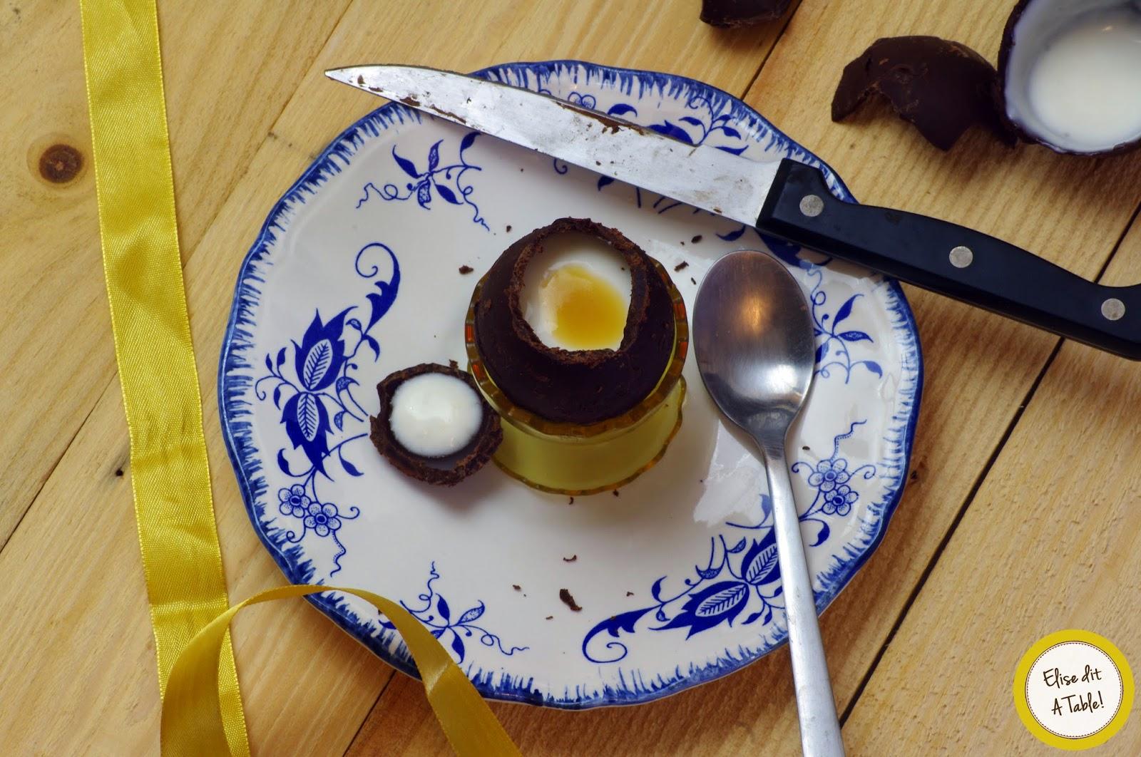 recette Oeuf en chocolat de Pâques