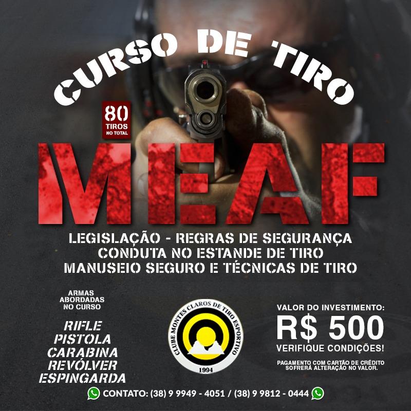 CURSO DE TIRO MEAF