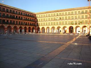 Plaza de la Corredera cordoba andalucia