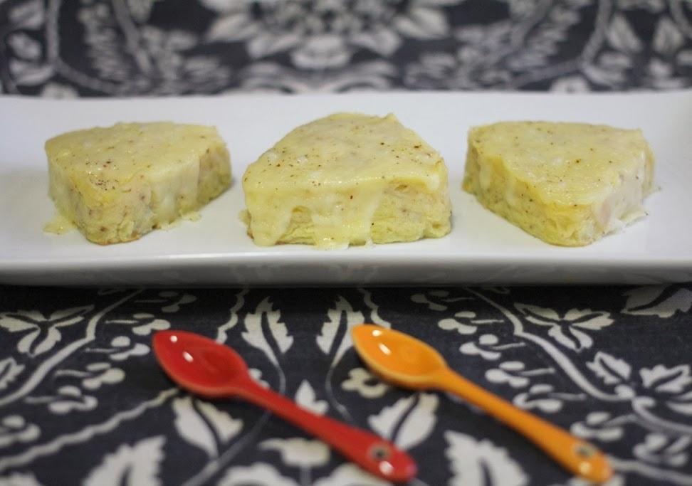 Pastelitos de coliflor al horno - El dulce mundo de Nerea