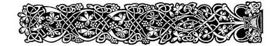 Armband Celtic with grapes tattoo stencil