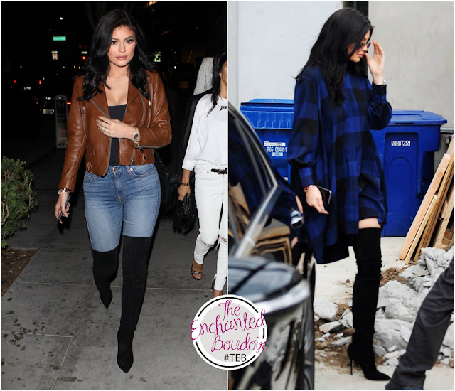 Kylie Jenner boots