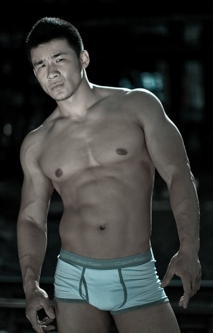 Yan Zhenxing - sexy Men's Health Cool Guy Contestant