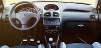 interior peugeot 206 rc