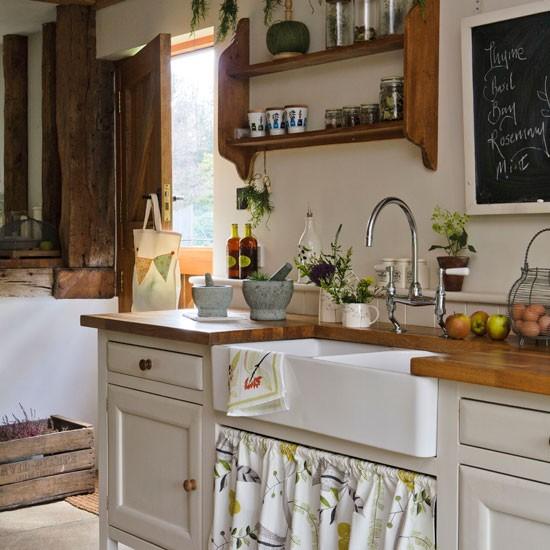 decoracao cozinha rural : decoracao cozinha rural: – Decoração: Decoração de cozinhas: madeira e os tons de bege