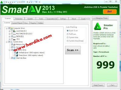 Free Download Antivirus Smadav Rev. 9.3.1 2013 New Update http://www