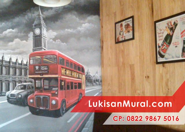 lukisan mural dinding