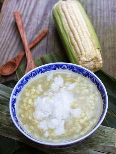 Corn sweet soup - Chè ngô