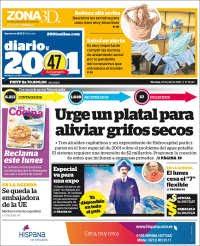 03/07/2020     PRIMERA PAGINA DIARIO DE VENEZUELA