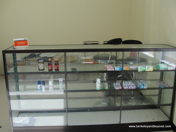 gift shop at Sylvia Hotel on Flores Island in Indonesia