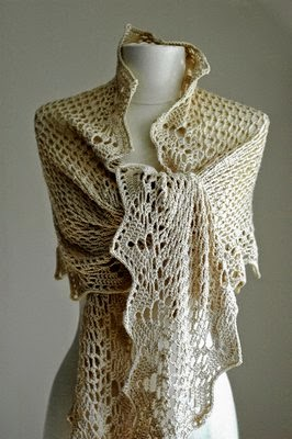 Free Antique Crochet Shawl Patterns : MES FAVORIS TRICOT-CROCHET: Modele gratuit : Ch?le ...