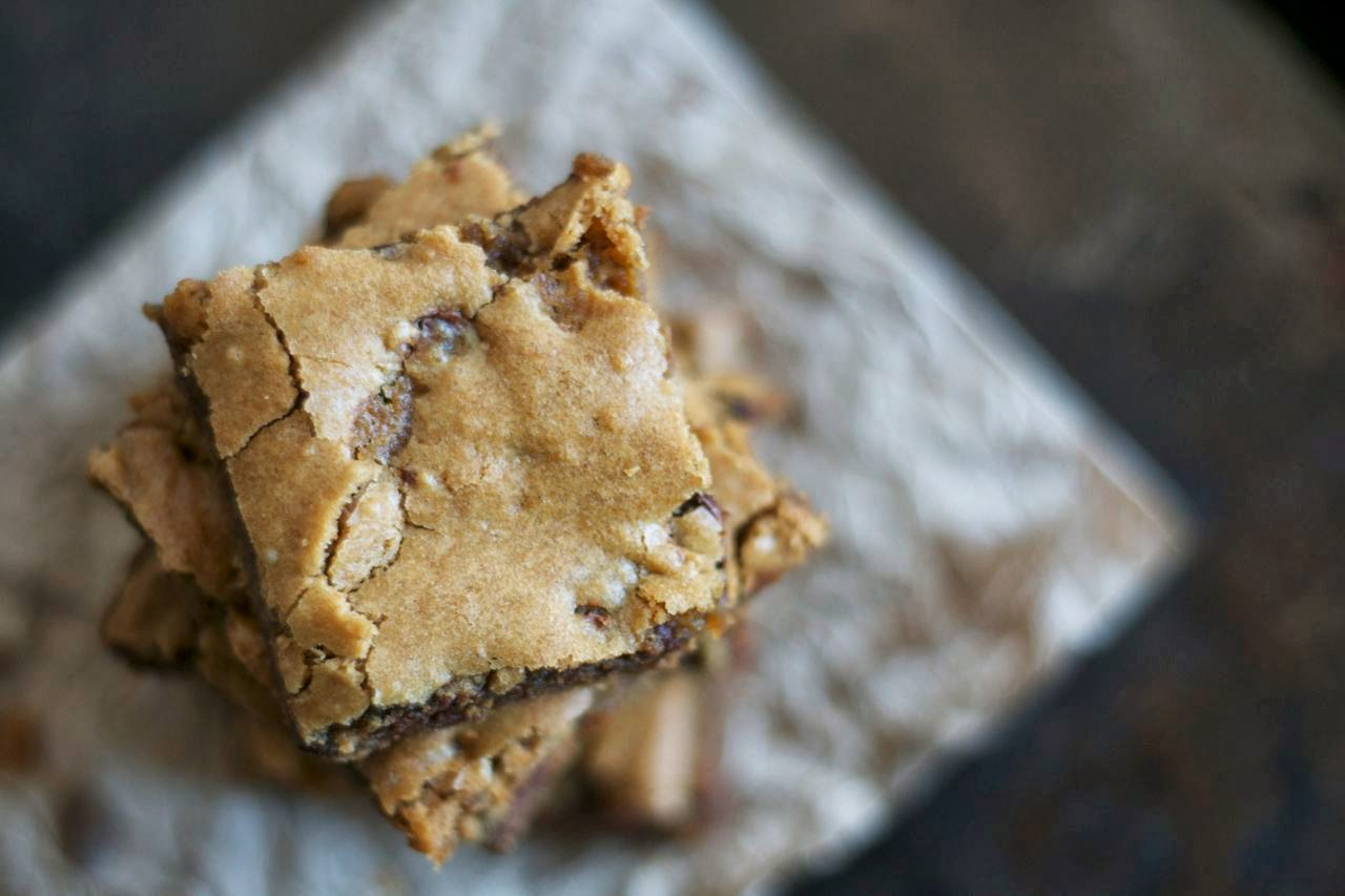 Butterscotch Chocolate Chip Brownies Days Of Baking And More - Better homes and gardens brownie recipe