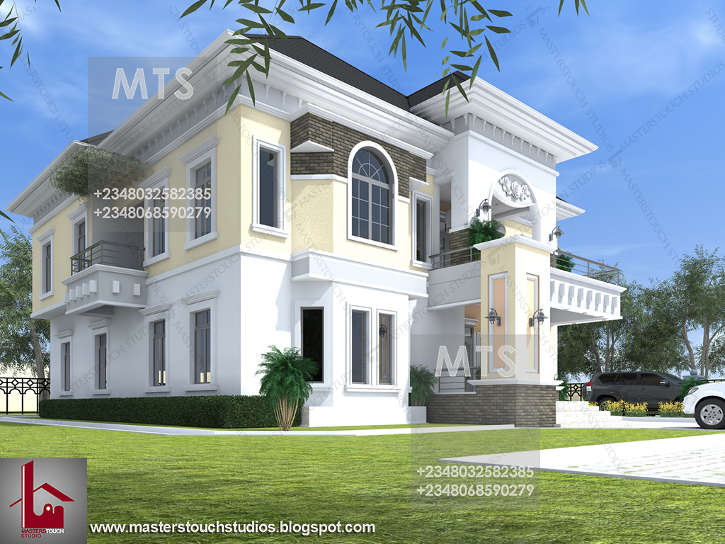 Mr uzo 7 bedroom duplex residential homes and public for Duplex bed