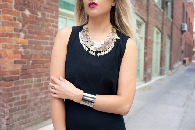 Crop top, maxi dress, how to wear crop tops, layering with crop tops, coin necklace, silver cuff