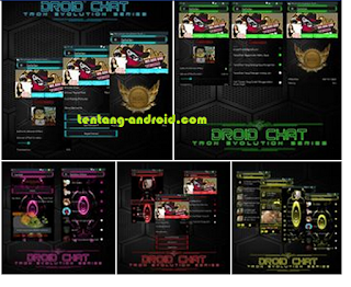 Droid Chat! v6.8.10 Tron Evolution Series Backup Sticker Based BBM v2.9.0.51