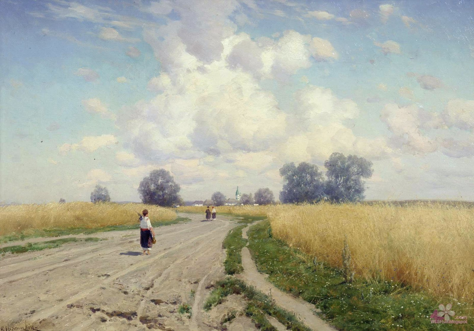 Impressive landscapes russian artists great work 34 pictures