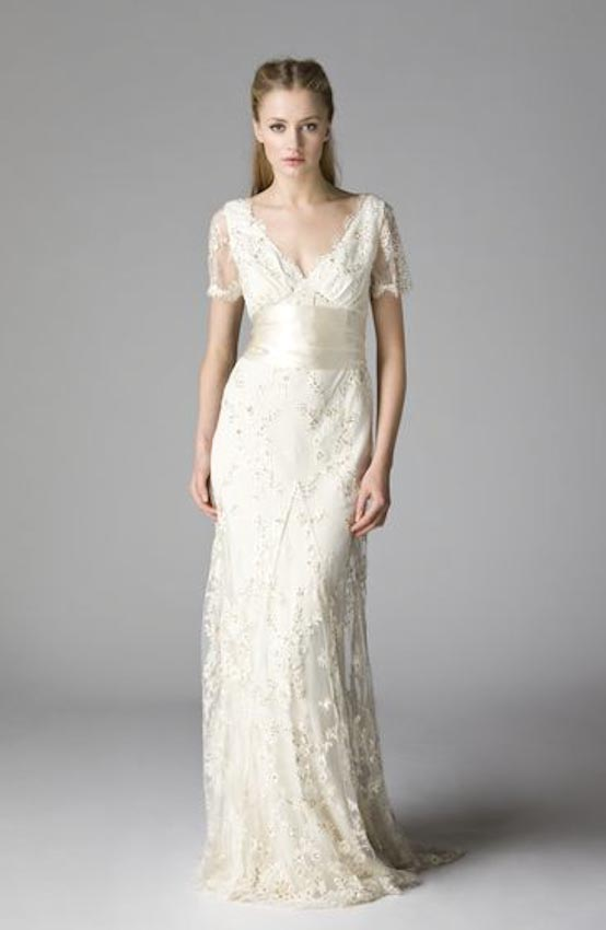 5 examples of lace wedding dresses that is not surrounded for Modern vintage lace wedding dress