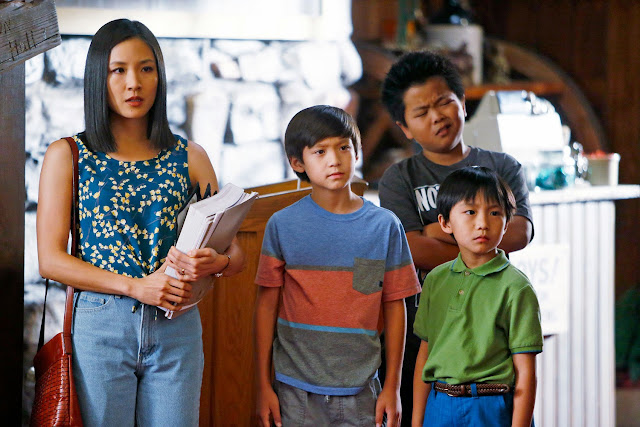 Eddie Huang's mom discovered mom jeans way before Tina Fey did.