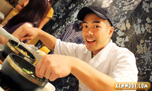 japanese chef shinichi kanai