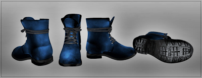 new leather mens *mesh* Combat Boots at ::: stud muffins :::