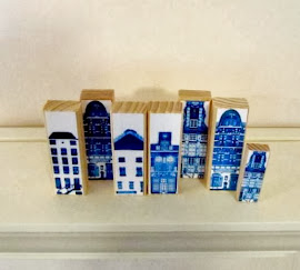 My handmade Delft village