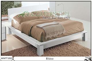 Tempat Tidur Modern Type Minimalis Rhino