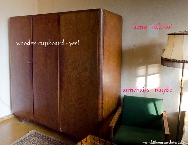 old townhouse apartment, interior design
