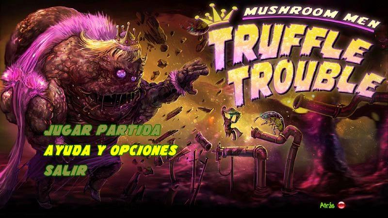 Mushroom Men: Truffle Trouble (Textos Castellano)