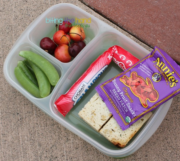 "Quick and easy picnic lunch for a ""big kid"" in @EasyLunchboxes"