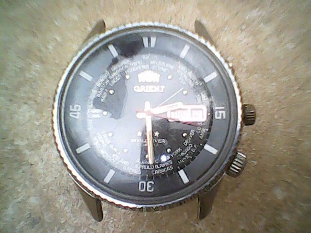 3a0cf451eb2 Aqui o relógio já totalmente montado.