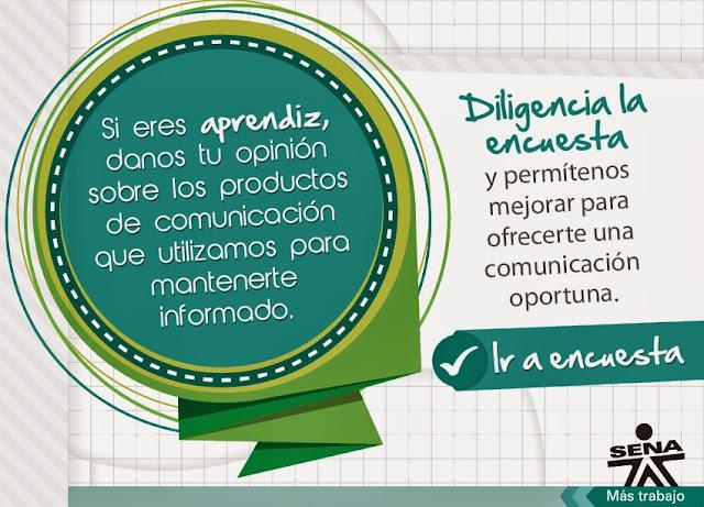 Encuesta Comunicaciones SENA 2013