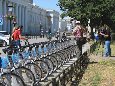 Прокат велосипедов у приволжского университета