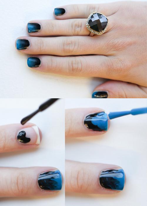 como pintar as unhas Unhas Decoradas Tendência e Técnicas de Arte 2014