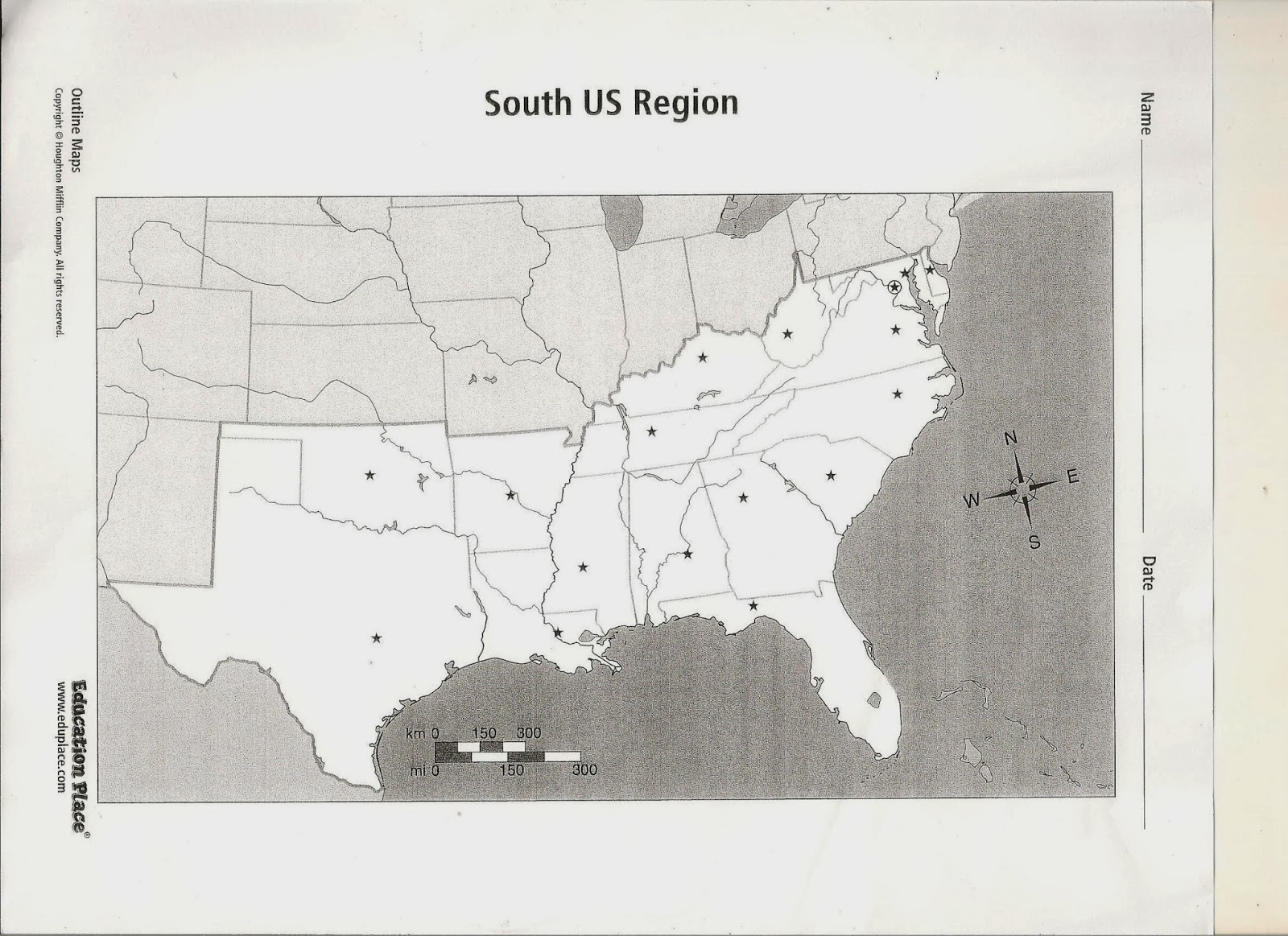 Outline Map Of Usa And Mexico With United States America USA Free - Education place us physical map