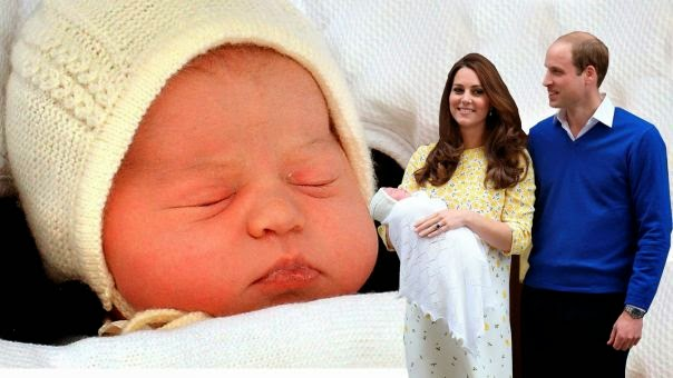 Prince George Now has a Baby Sister Princess Charlotte