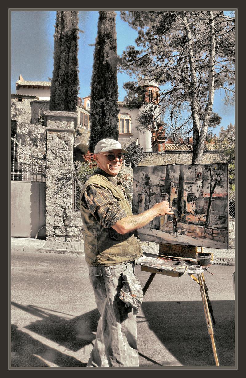 Ernest descals artista pintor avinyo bages barcelona pintura catalunya torre abadal historia - Pintores de barcelona ...