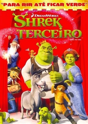 Shrek 3 - Shrek Terceiro Filmes Torrent Download capa