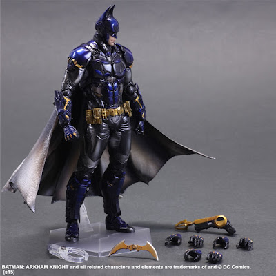 San Diego Comic-Con 2015 Exclusive Metallic Batman: Arkham Knight Play Arts Kai Action Figure by Square Enix