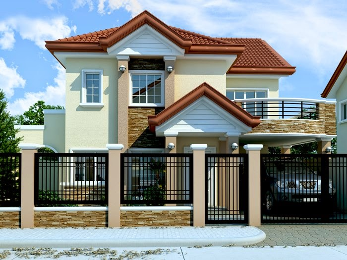 House Desing 33+ beautiful 2-storey house photos