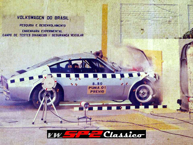 Crash Test - Puma GTE 1980