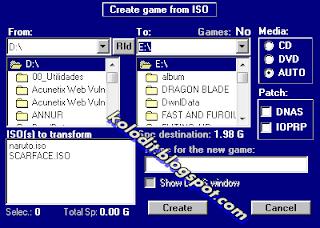 cara mudah memasukan game PS2 ke hardisk PS2